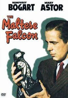 """The Maltese Falcon"" (1941), classic film noir directed by John Huston who was 34-35 at the time of this his directorial debut. The entire film was made in eight weeks for only $300,000. It is considered by many to be the ""best detective melodrama ever made.""  Huston received an Academy Award nomination for the screenplay."