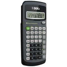 Texas Instruments� TI-30Xa Scientific Calculator