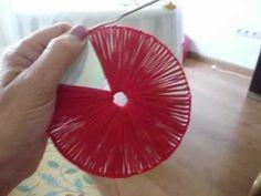 bolso hecho con CDs