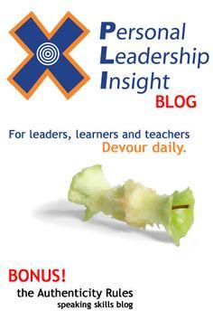 Personal Leadership Insight Blog