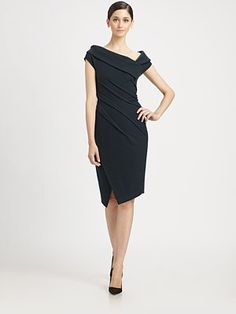 Donna Karan - Asymmetrical Dress - Saks.com