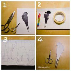 Paso a paso para hacer un vinilo decorativo de forma fácil y sencilla. Ahorra un montón de dinero creando tus propios vinilos decorativos.