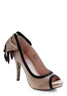 Betsey Johnson With My Peeps Heel | Mod Retro Vintage Heels | ModCloth.com - StyleSays
