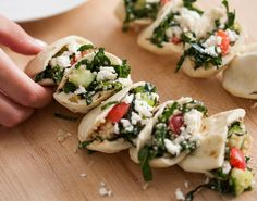 Time for a Detox: Two-Bite Kale Tabouli Pockets