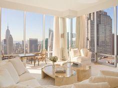 Sky high living room