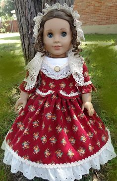 18 Doll Clothes Historical Antebellum / Civil by Designed4Dolls, $34.95
