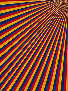 blue, yellow, red wallpaper