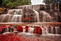 Quebrada de Jaspe La Gran Sabana Venezuela