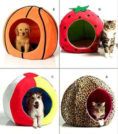 Oop Pet Beds Round Circular Ball Shape Butterick Sewing Pattern 4949 Dog Cat