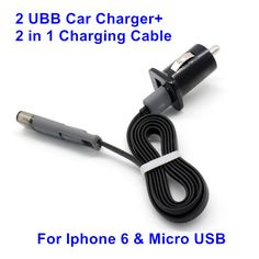 Cable For Micro USB And For Iphone 6 5 For Samsung Galaxy S6, Note5