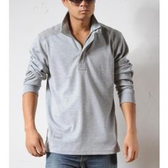 men shirt collar stand up - Szukaj w Google