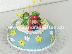 Mario, Luigi und Yoshi wünschen an super Geburtstag