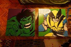 Kész asztal fóliák Ikea Lack asztalon Hulk és Rozsi :)