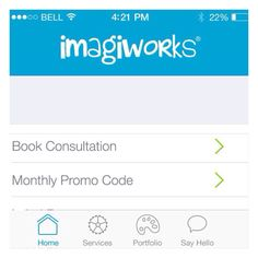 Here's a brief sample of our brand new #iOS7 optimised #mobileapp for #iPhone.