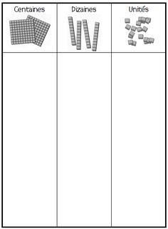 Ardoise Numération Calcul - haddock Math Worksheets, Math Resources, Math Place Value, Teachers Corner, Math Numbers, 1st Grade Math, Montessori Activities, Homeschool Math, Math Skills