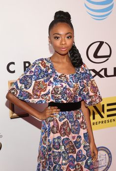 Skai Jackson Photos - Actress Skai Jackson attends the 47th NAACP Image Awards presented by TV One at Pasadena Civic Auditorium on February 5, 2016 in Pasadena, California. - 47th NAACP Image Awards Presented By TV One - Red Carpet