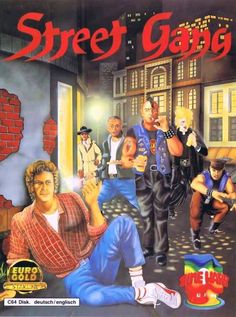 theactioneer:  Street Gang (Softgold 1987)