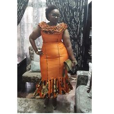 You should all know by now that one of our favorite features here at Wedding Digest is Ankara Fashion and Styles. The pretty perfect ensembles created with these fabulous prints… African Inspired Fashion, Latest African Fashion Dresses, African Print Dresses, African Dresses For Women, African Print Fashion, Africa Fashion, African Wear, African Attire, African Women