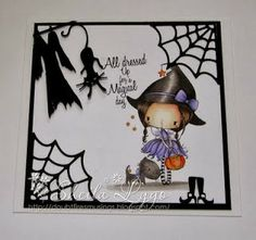 All Dressed up Challenge blog: Challenge #2 Halloween