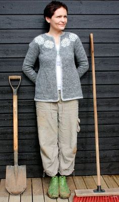 Free knitting pattern | Freyja Lopapeysa | Knitting Iceland x