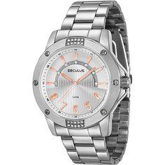 Americanas Relógio Feminino Seculus Analógico - R$80,91