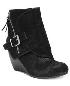0a764e426176 Blowfish Bilocate Wedge Booties Shoes - Boots - Macy s
