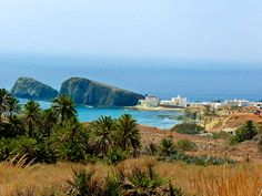 Beautiful views of Cabo de Gata -Nijar - Isleta del Moro, in Costa Alemria Granada, Spain Holidays, Cities, Great Paintings, Beautiful Sites, Seville, Spain Travel, Best Hotels, Trip Planning