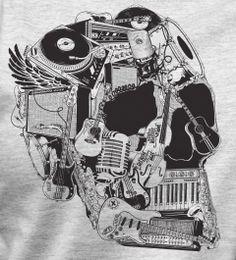 Caveira Musical - Musical Skull
