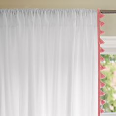 Punch French Tassel Window Panel | Serena & Lily