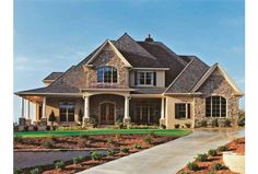 Eplans French Country House Plan - Above and Beyond - 4012 Square Feet and 4 Bedrooms from Eplans - House Plan Code HWEPL11024