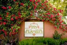 Look for us amidst the blaze of roses! Photo by Eric Swanson http://www.ericswanson.com/ Copyright Inn on the Alameda