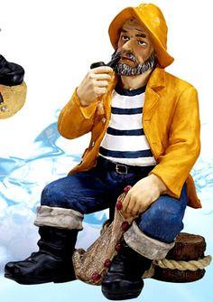Sea Captain With Lantern Figurine Ps 449 Mary S Bathroom