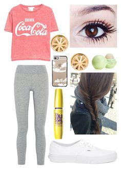 """""""Untitled #137"""" by nicolette-music ❤ liked on Polyvore featuring LAAIN, MANGO, Vans, Rebecca Minkoff, Casetify and Eos"""