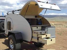 Strange Camper Trailers   ... 4x4 teardrop trailer website if you are curious in homemade trailers