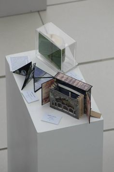 Book Art by Heather Hunter exhibited at turn the page artists' book fair 2012