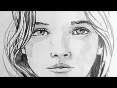 How To Draw A Female Face: Narrated Step by Step - YouTube