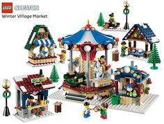 Vila de Natal LEGO: Winter Village Market