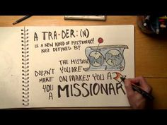 What is a Trader? - video from Brian Mosley at RightNow.org | New kind of missionary | pinned by @crossworldORG
