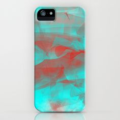 Red Mist iPhone & iPod Case by TheseRmyDesigns