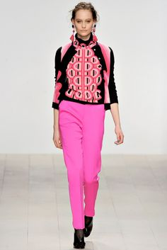 Holly Fulton Fall 2012 Ready-to-Wear Fashion Show - Queeny Van der Zande