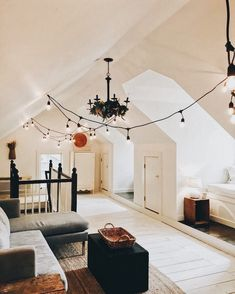 Attic living space attic living rooms, attic spaces, bed rooms, first home, House Design, House, Home N Decor, Home, Cozy House, House Rooms, House Styles, First Home, Home And Living
