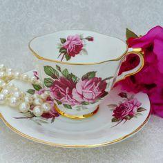SUTHERLAND H M Vintage Bone China Tea Cup and by HoneyandBumble