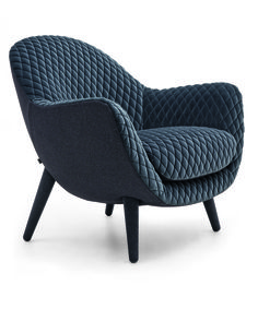 stylish, chic & #contemporary - the 'Queen' #armchair from Marcel Wanders from Poliform makes an inviting seat for relaxation