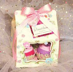 Cupcakes de ropita de bebé. La Cestería de Simoneta.