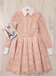 Lace dress....