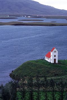 Lone Church-Lake Úlfljótur | Svava Sparey Yoga Holidays #iceland #travel