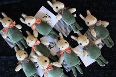 FOX AND OWL: rabbit friends for Heath Ceramics