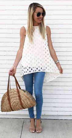 obsessed summer outfit idea