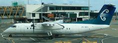 Bombardier Dash 8 - 311 Reg ZK-NEC belonging to Air Nelson (Air New Zealand Link) Air New Zealand, Jet Engine, Link, Modern, Trendy Tree