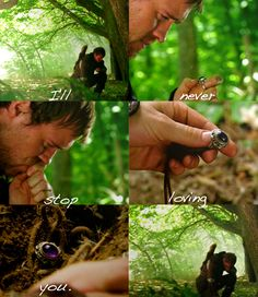 Robin's Goodbye to Marian. I could cry right now just looking at this. - Robin Hood BBC
